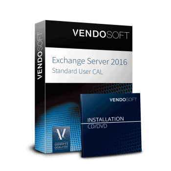 Microsoft Exchange Server 2016 Standard User CAL used