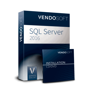 VENDOSOFT buys your software: Microsoft SQL Server 2016 Standard