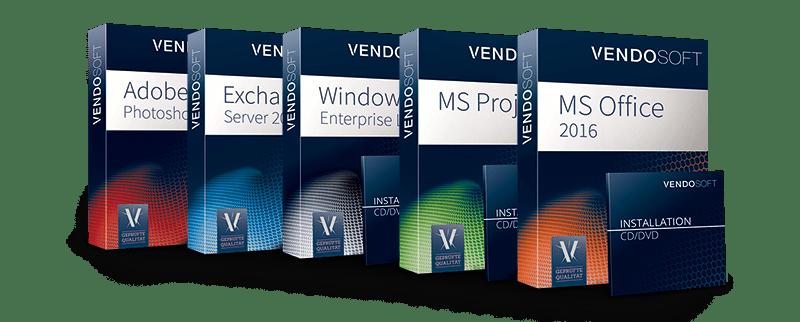 VENDOSOFT kauft gebrauchte Software von Microsoft und Adobe