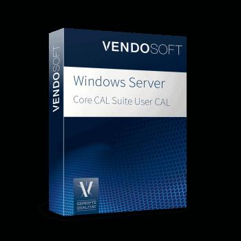 Microsoft Windows Server 2016 Core CAL Suite User CAL used