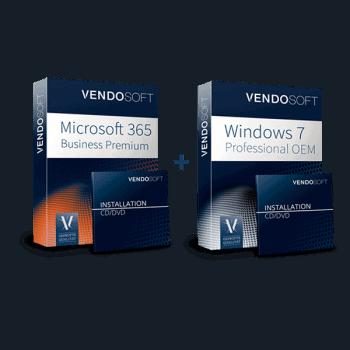 Hybride Cloud: Microsoft 365 Business Premium & Windows 7 (gebraucht)