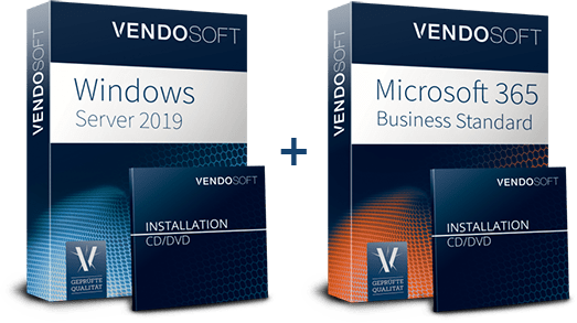 Hybride Cloud Produkte - Windows Server 2019 und MS 365 Business Standard