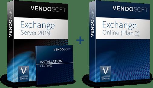 Hybride Cloud Produkte - Exchange Server 2019 und Exchange Online Plan 2